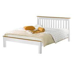 Derby Bed - White