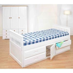Kids Storage Bed With Captains Storage Bed White Best Beds Childrens Kids